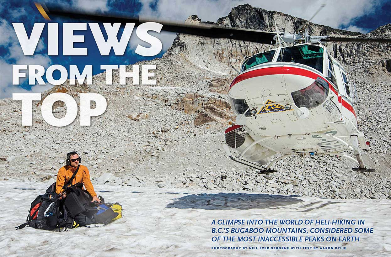On Assignment: Canadian Geographic Magazine: Views from the Top