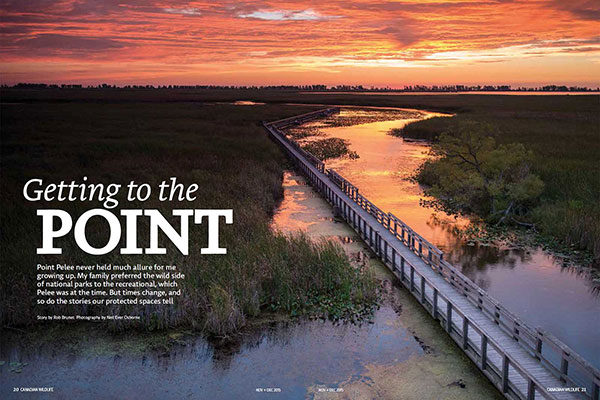 On Assignment: Canadian Wildlife Magazine - Getting to the Point